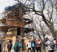 Čínský pavilon byl dříve chloubou parku