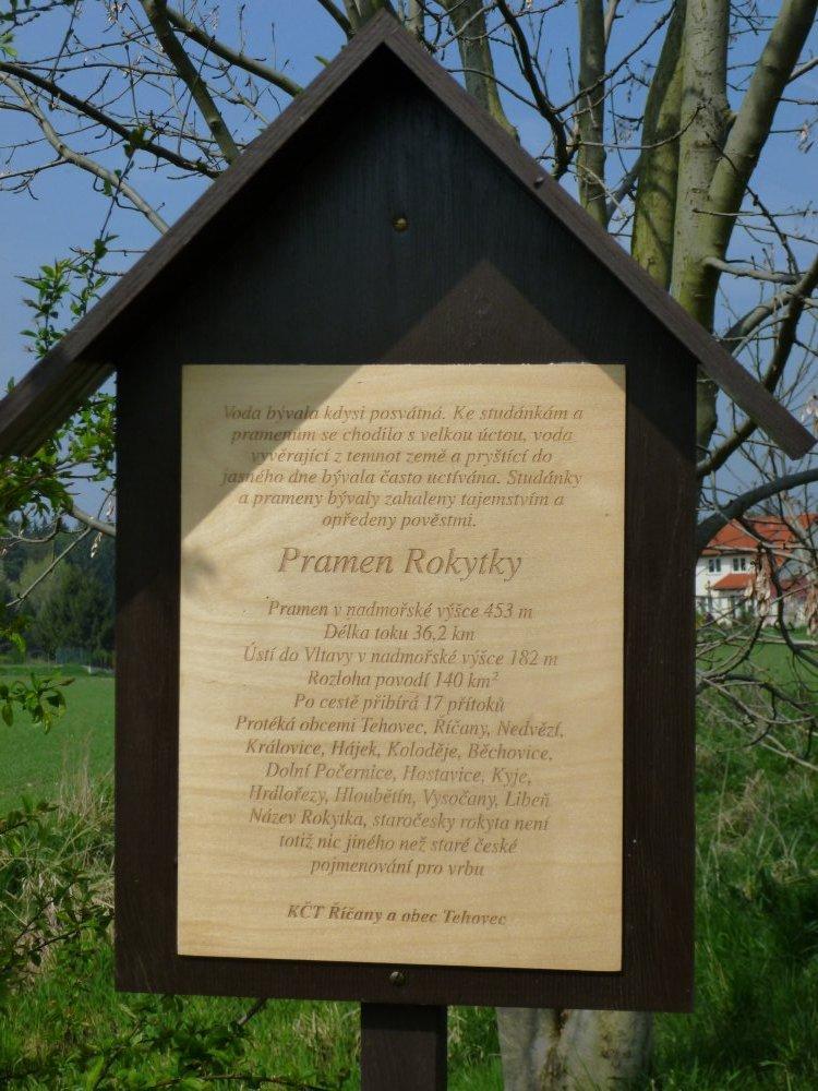 K pramenům Rokytky, pochod Františka Znamenáčka