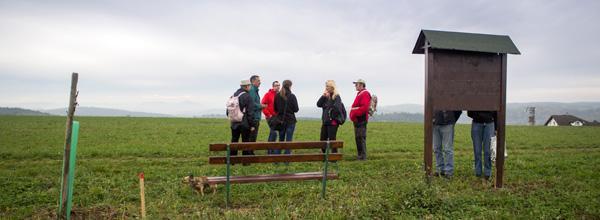 """Vycházka po turisticko naučné stezce """"Krásné vyhlídky"""" Mnichovice"""