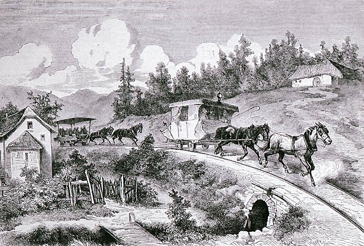 Po trase koněspřežky až k hraničním hvozdům